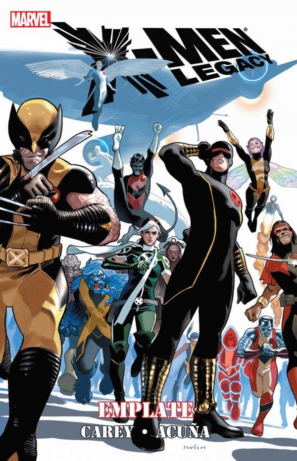 X-Men: Legacy  - Emplate HC Premiere Hardcover