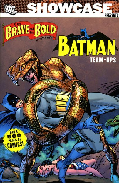 Showcase Presents: The Brave and the Bold: The Batman Team-Ups Vol. 1 TP