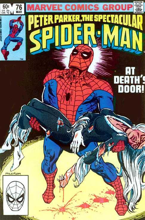 Peter Parker, The Spectacular Spider-Man #76