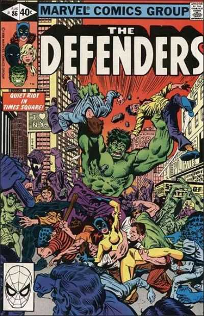 The Defenders #86