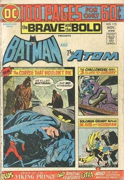 The Brave and the Bold #115
