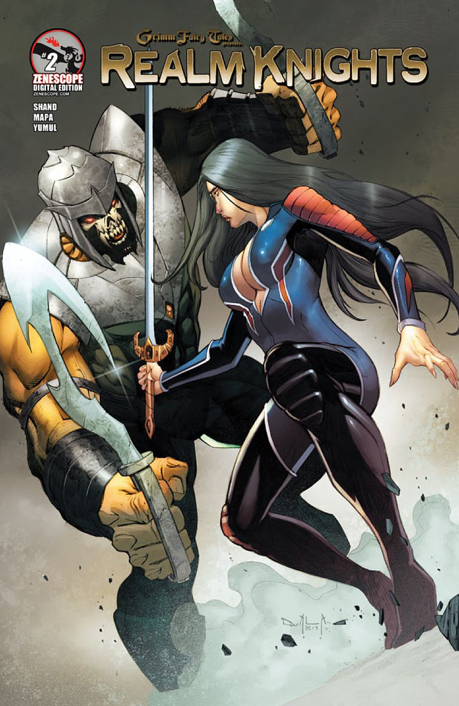 Grimm Fairy Tales Presents Realm Knights #2