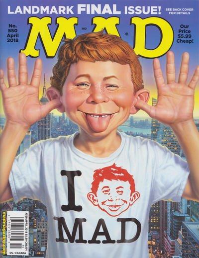 Mad Magazine #550