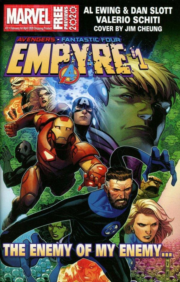 Marvel Previews #31