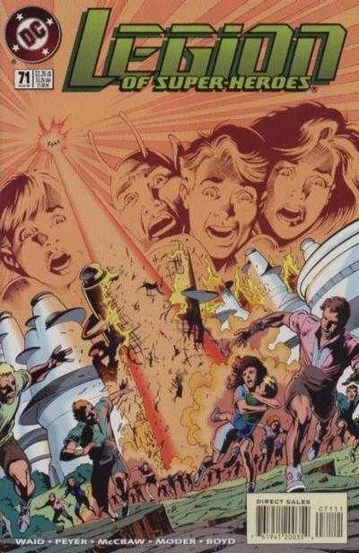 Legion of Super-Heroes #71