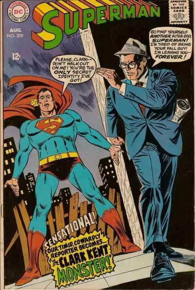 Superman #209