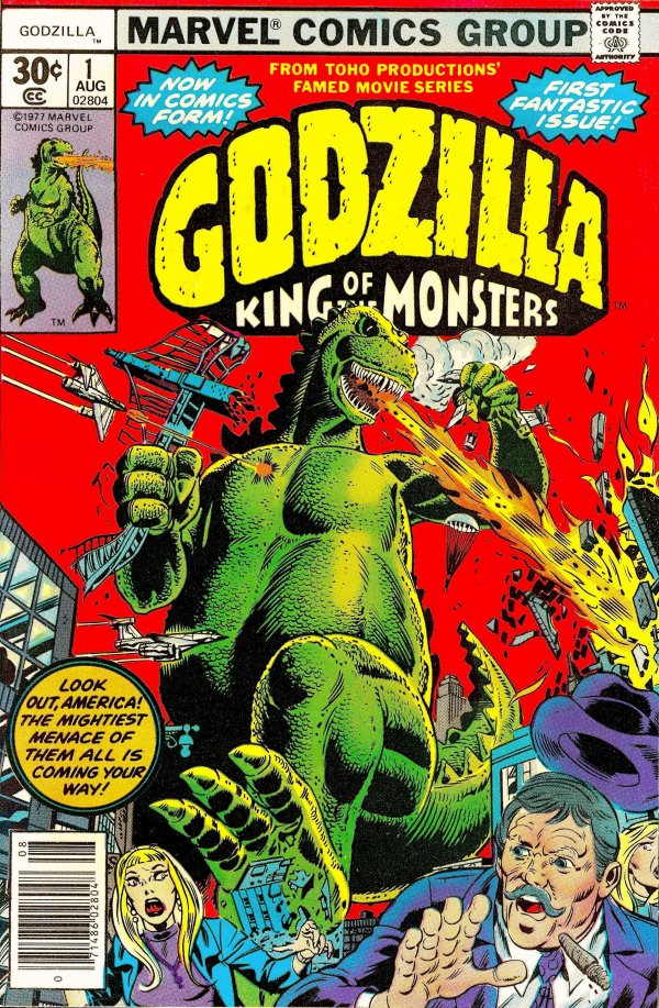 Godzilla: King of the Monsters #1
