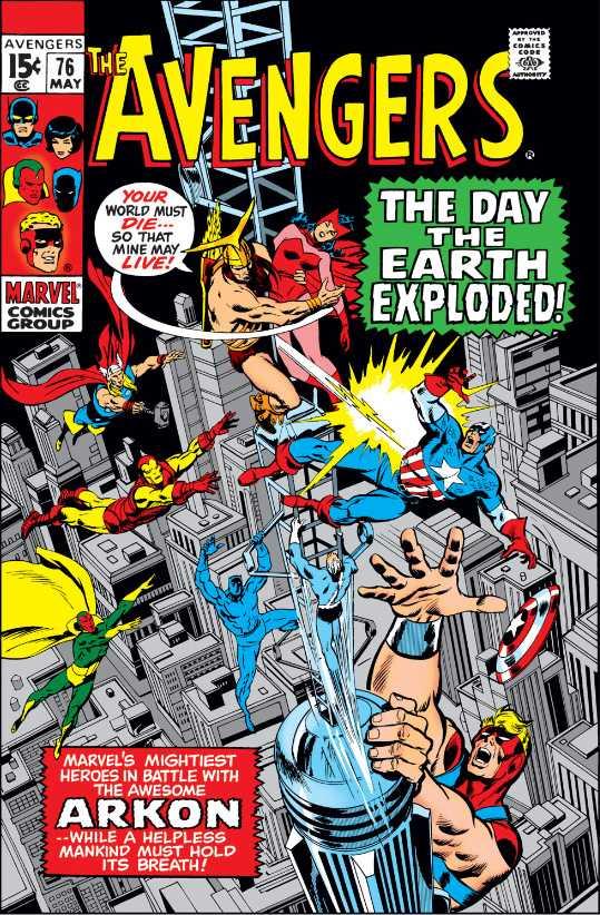 The Avengers #76