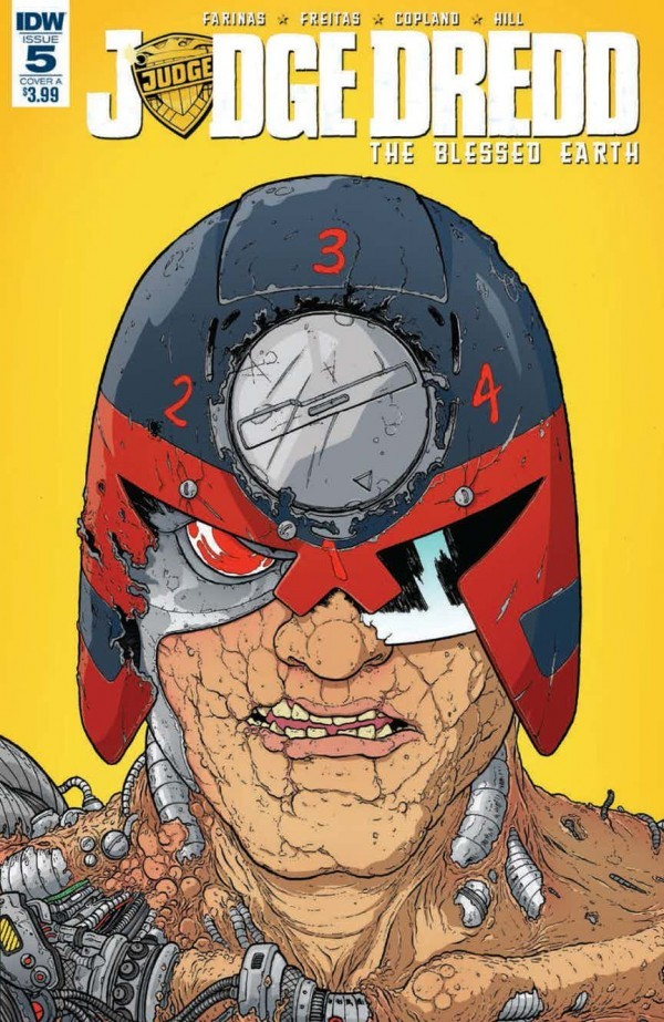 Judge Dredd: Blessed Earth #5