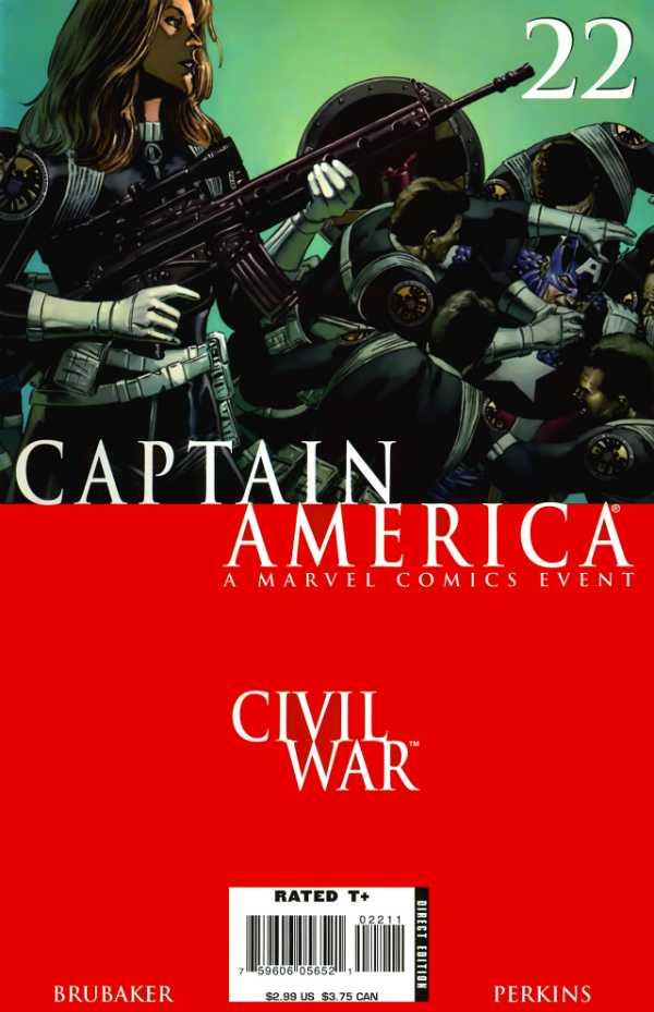Captain America #22