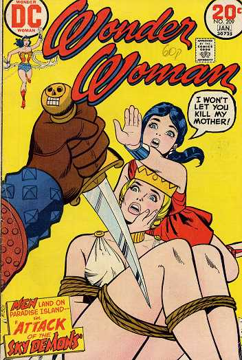 Wonder Woman #209