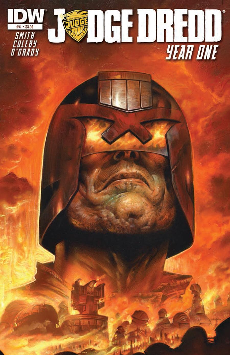 Judge Dredd: Year One #4