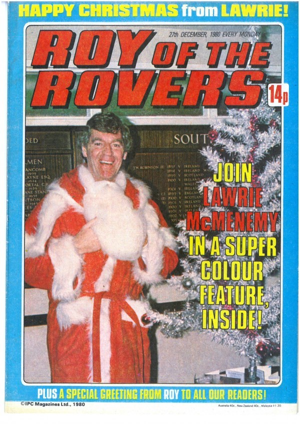 Roy of the Rovers #December 27th, 1980