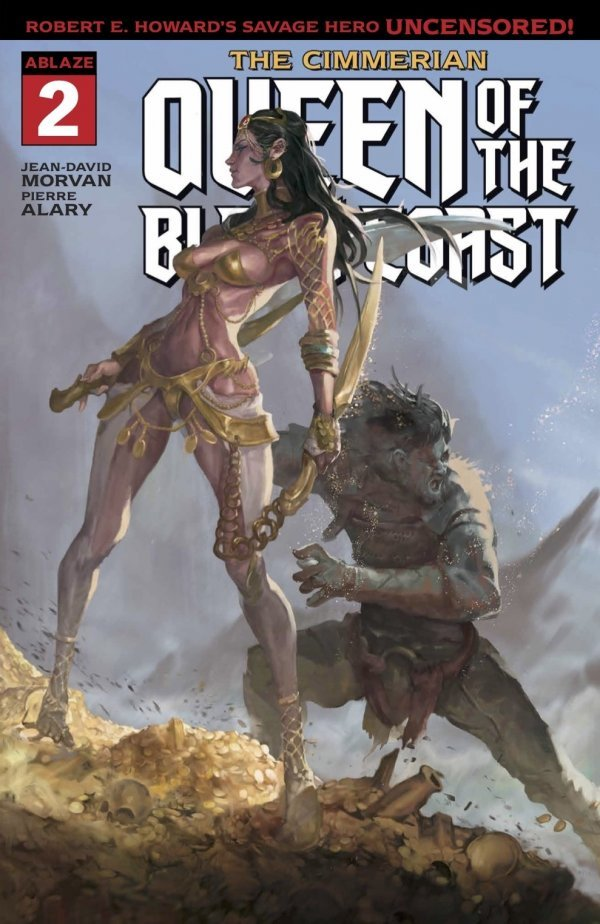 The Cimmerian: Queen of the Black Coast #2