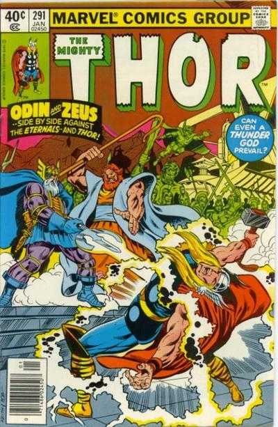 The Mighty Thor #291
