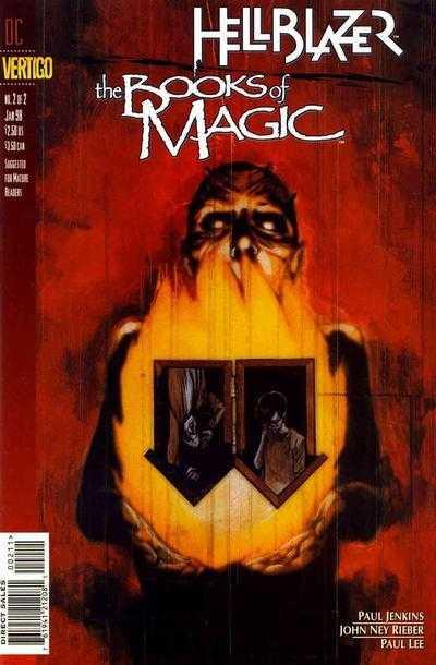 Hellblazer / Books of Magic #2