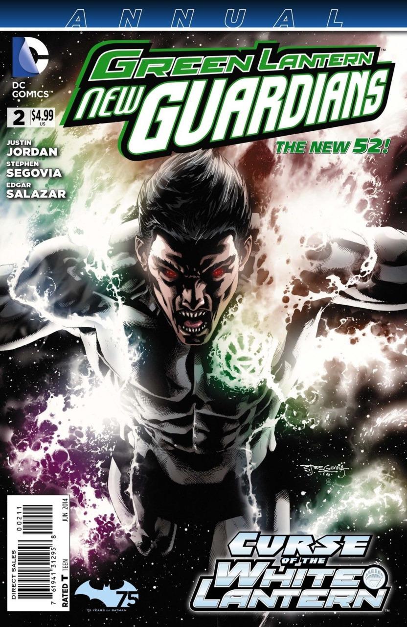 Green Lantern: New Guardians Annual #2
