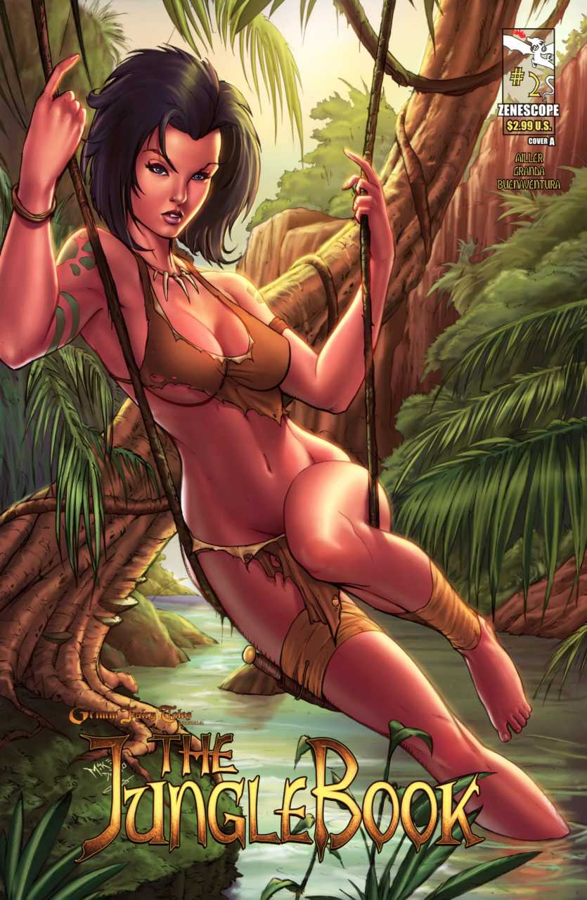 Grimm Fairy Tales Presents The Jungle Book #2