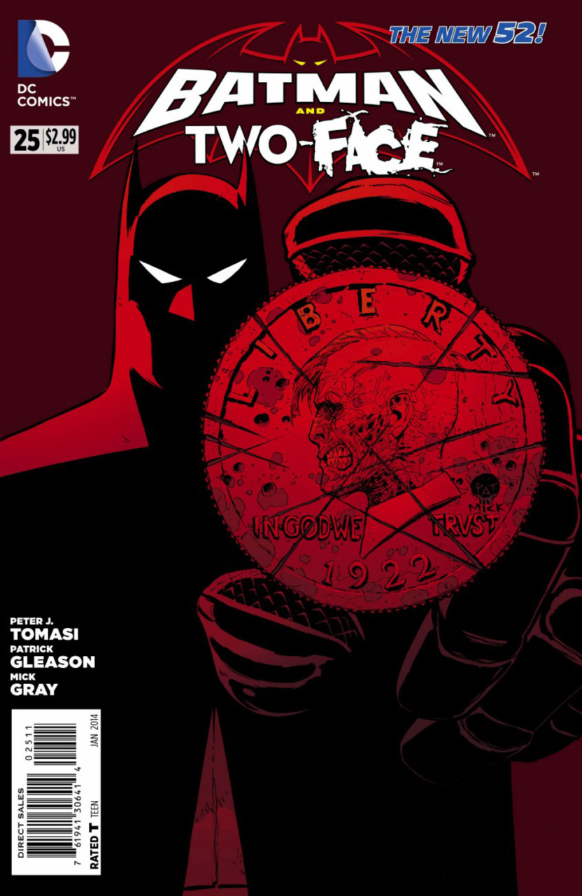 Batman and Two-Face #25