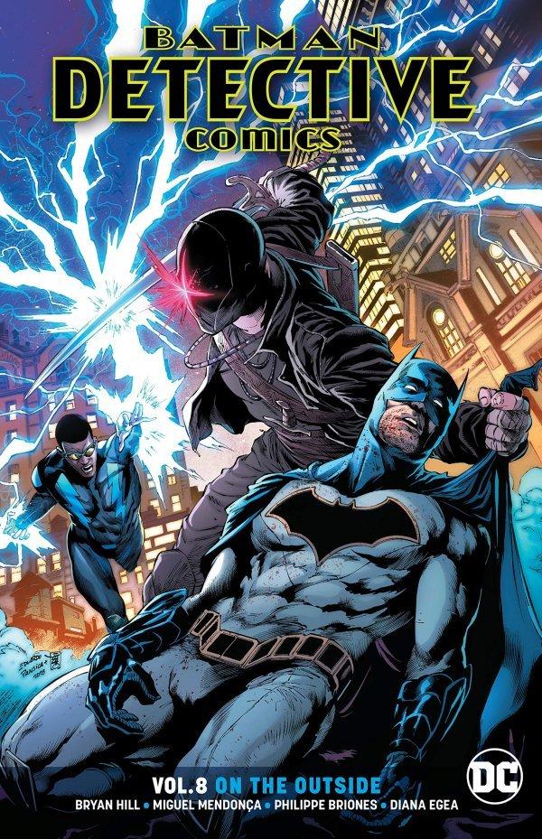 Batman: Detective Comics Vol. 8: On The Outside TP