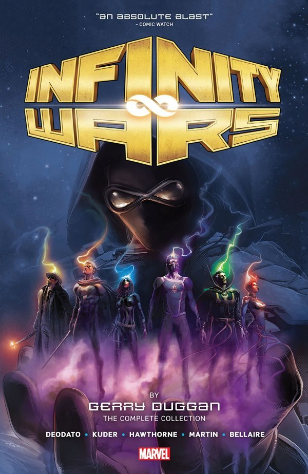Infinity Wars by Gerry Duggan: The Complete Collection HC