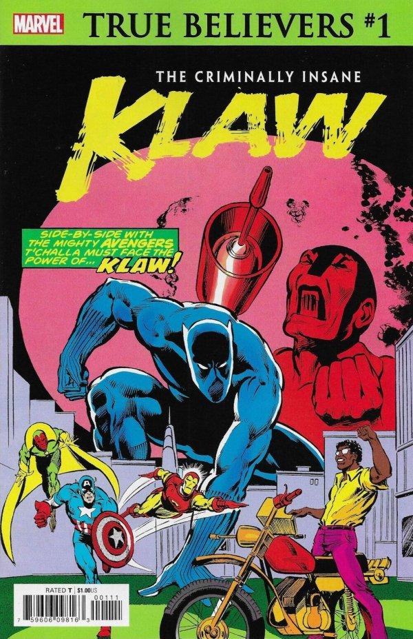 True Believers: The Criminally Insane - Klaw #1