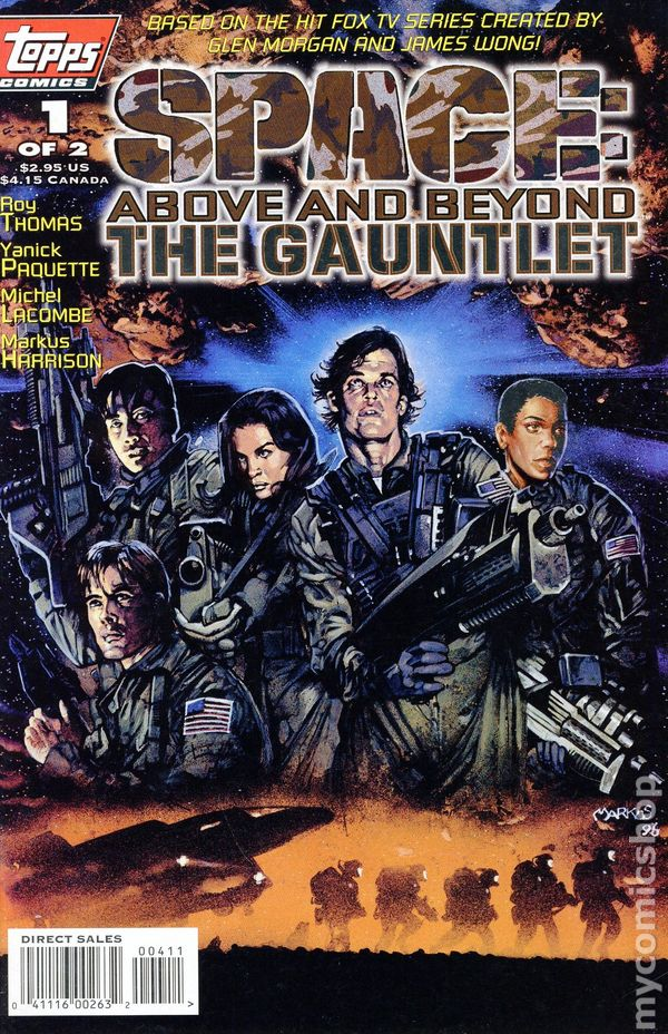 Space: Above and beyond - The Gauntlet #1