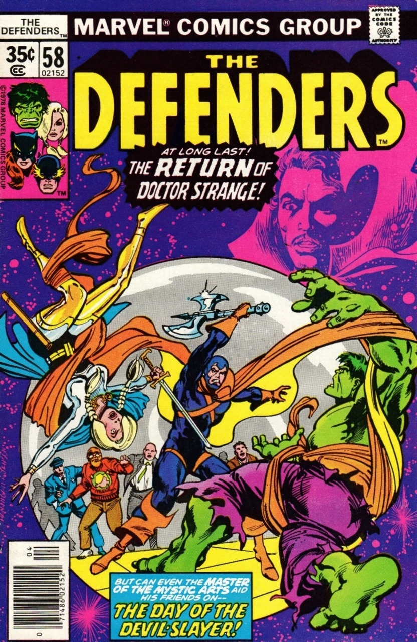 The Defenders #58