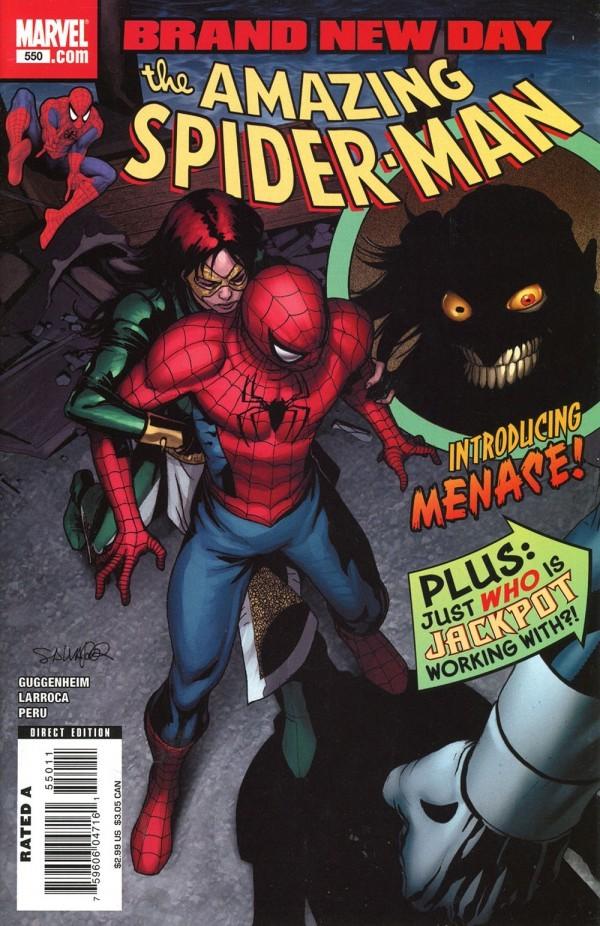 The Amazing Spider-Man #550