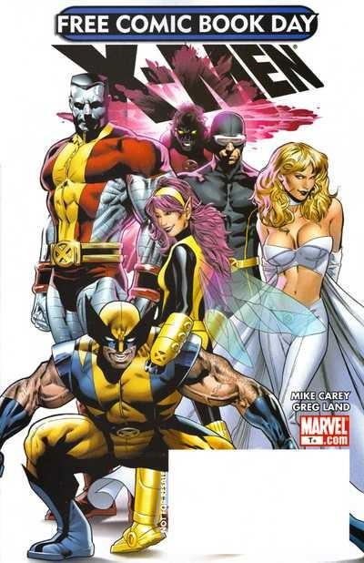 Free Comic Book Day 2008: X-Men #1