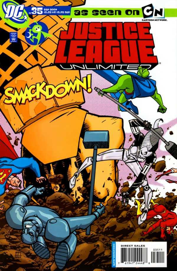 Justice League Unlimited #35