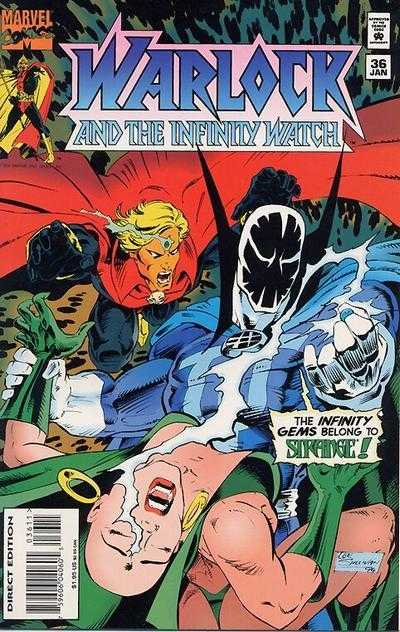 Warlock and the Infinity Watch #36