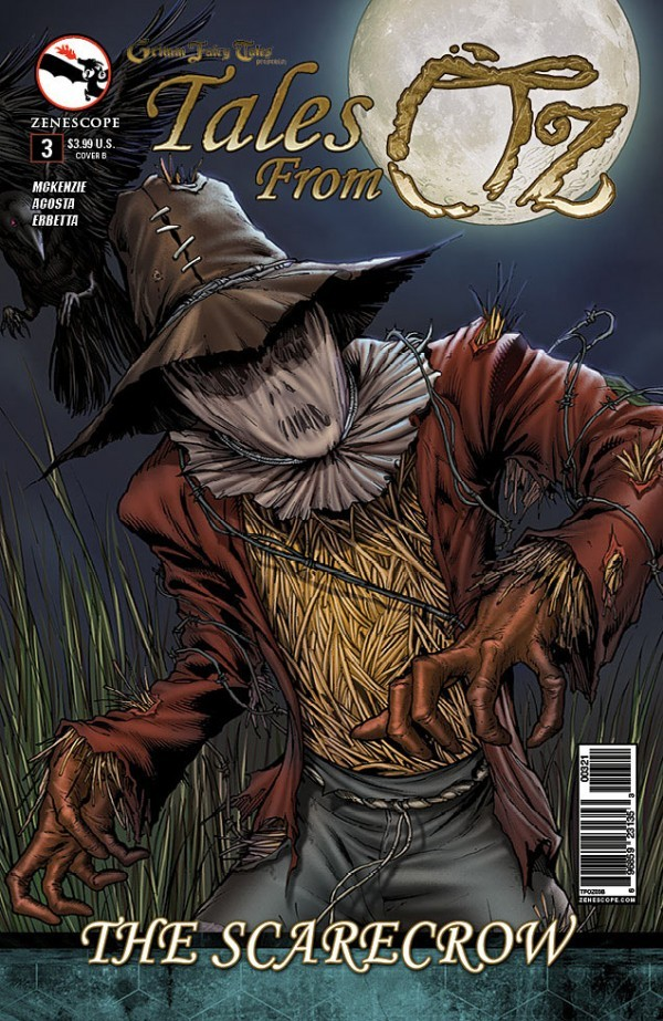 Grimm Fairy Tales Presents Tales From Oz #3