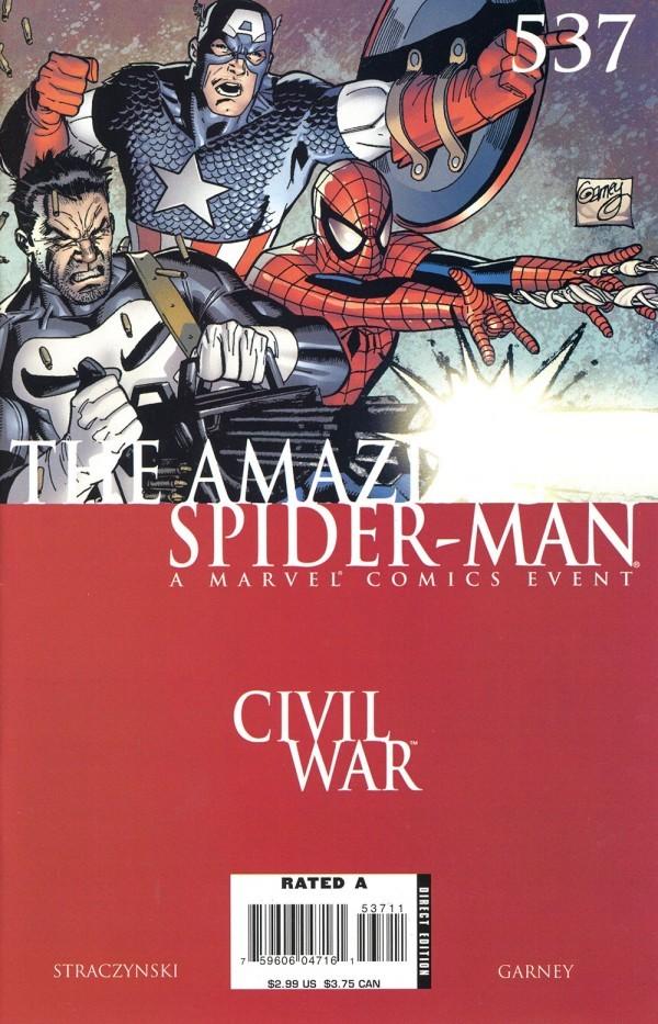 The Amazing Spider-Man #537