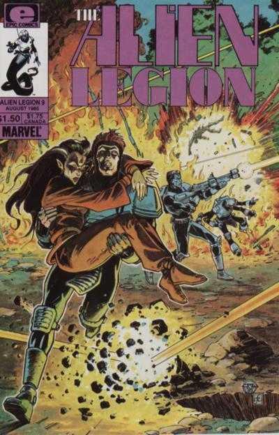 The Alien Legion #9