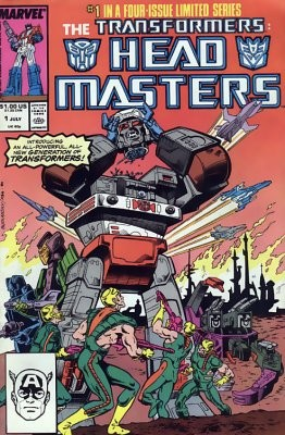 The Transformers: Head Masters #1