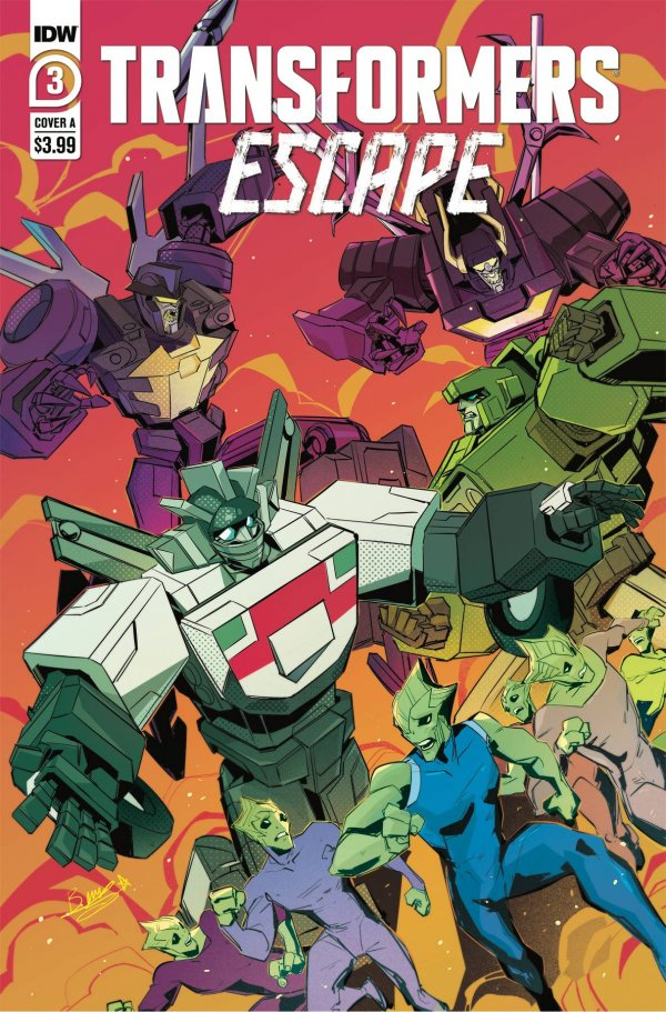Transformers: Escape #3