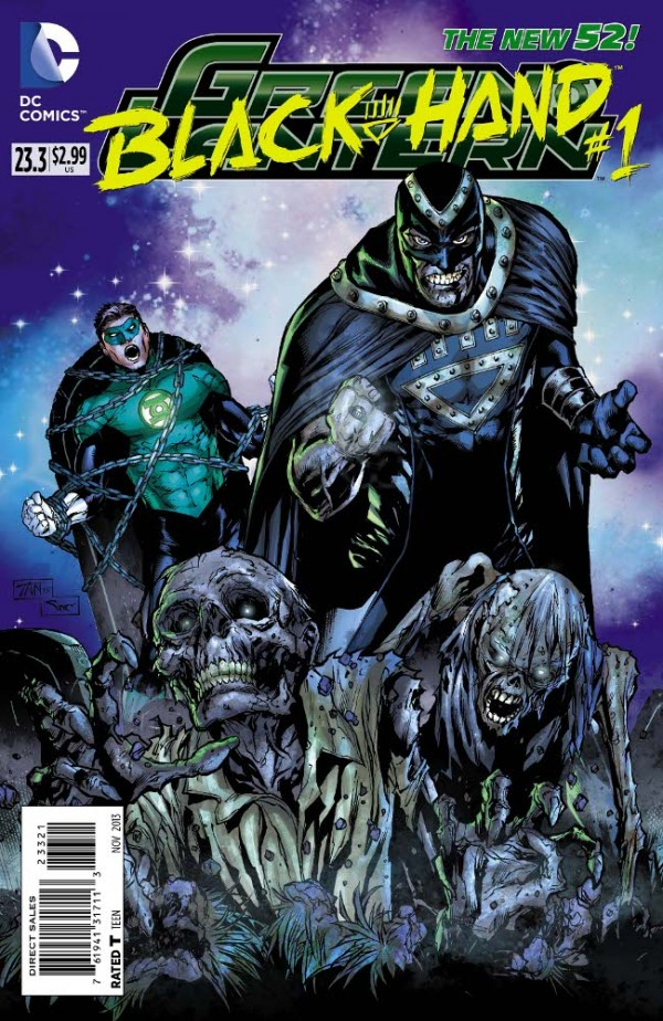 Green Lantern #23.3 Black Hand