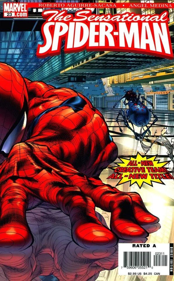 The Sensational Spider-Man #23