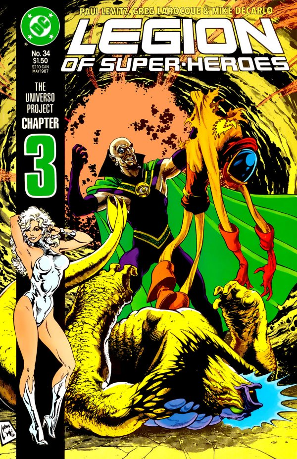 Legion of Super-Heroes #34
