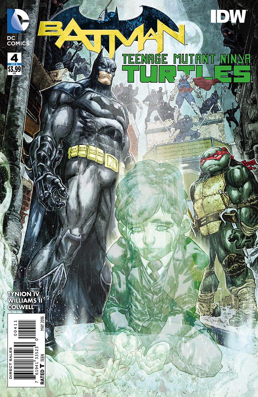 Batman / Teenage Mutant Ninja Turtles #4