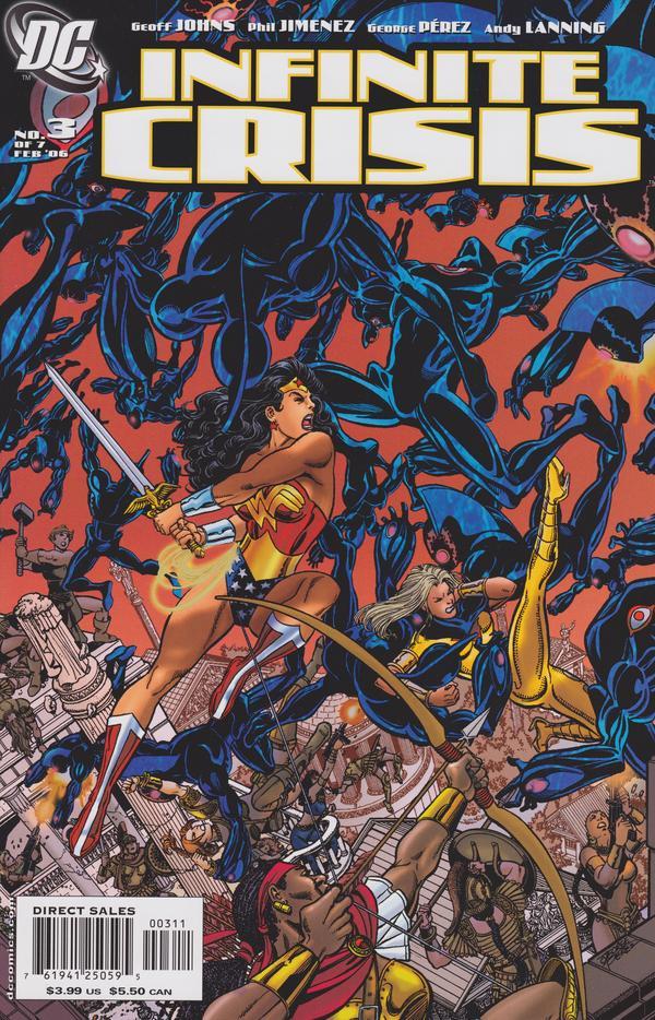 Infinite Crisis #1 December 2005 DC Comics Johns Jimenez Lanning