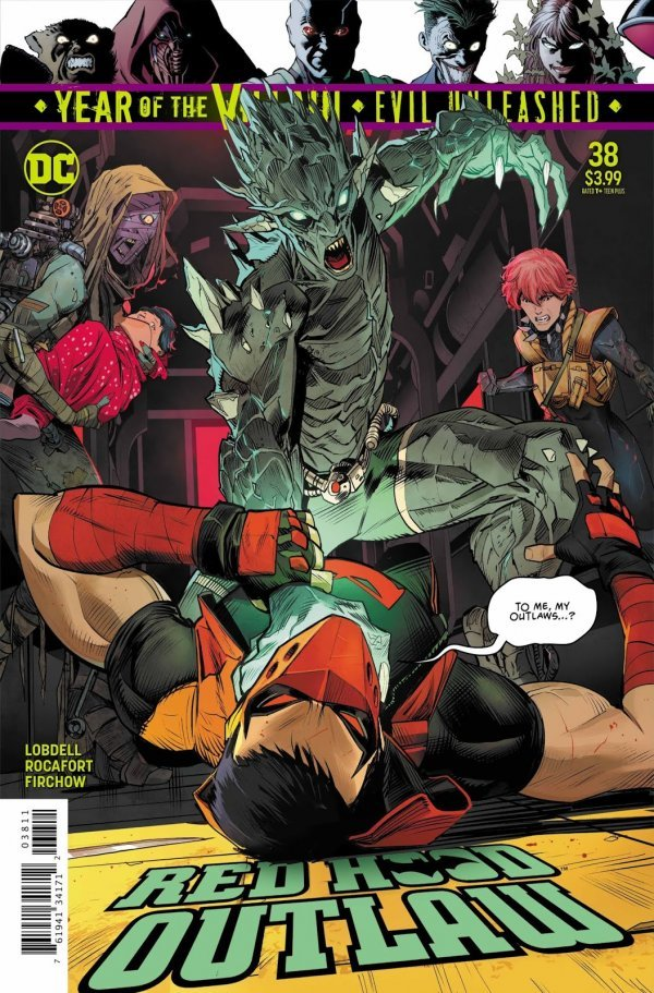 Red Hood: Outlaw #38