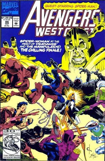 Avengers West Coast #86