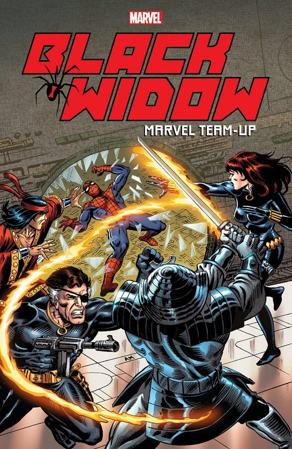 Black Widow Marvel Team Up Tp Reviews