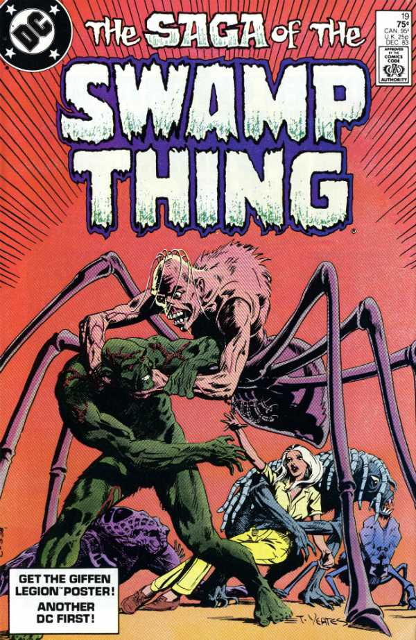 The Saga of the Swamp Thing #19