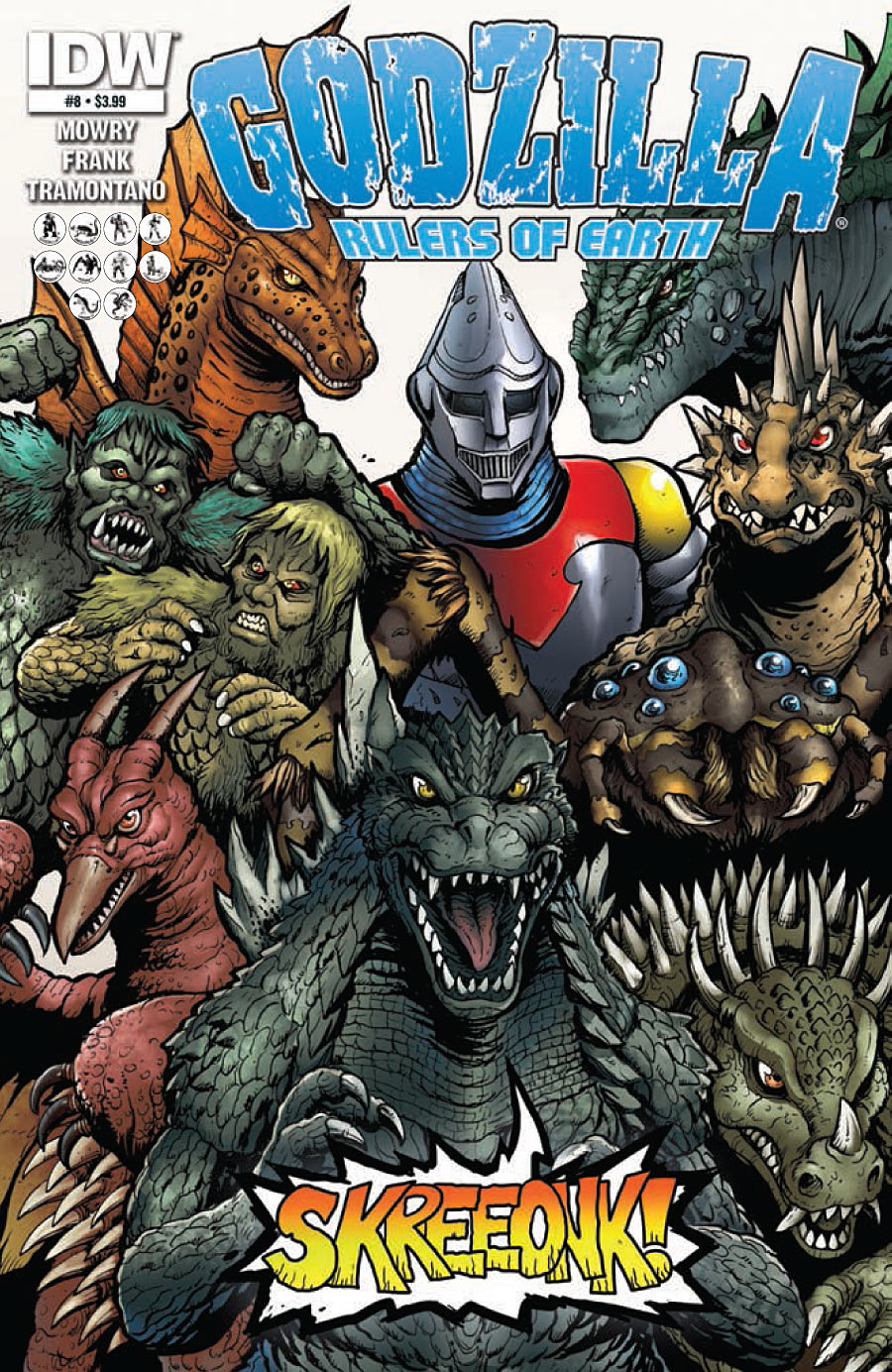 Godzilla: Rulers of Earth #8