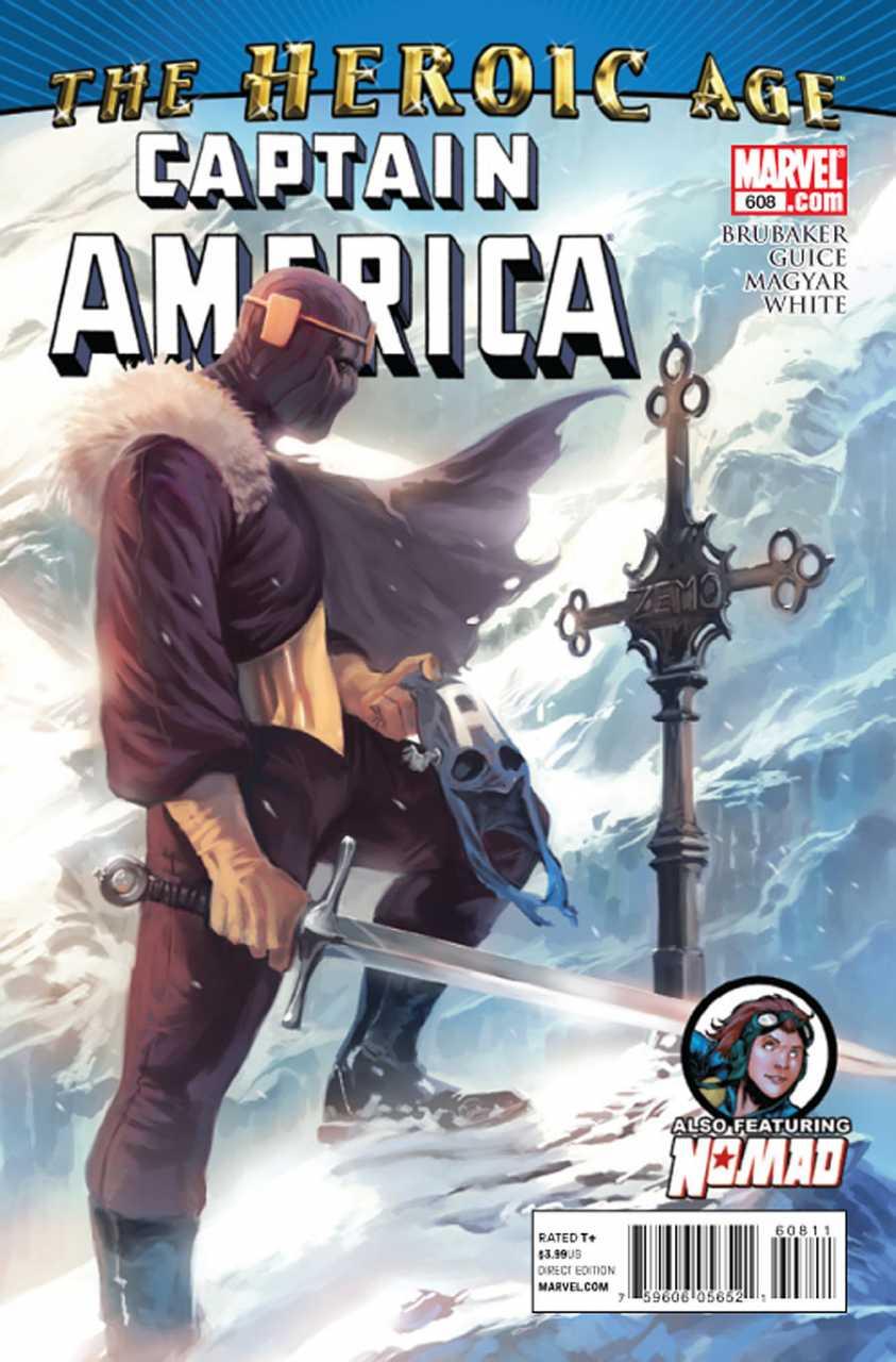 Captain America #608