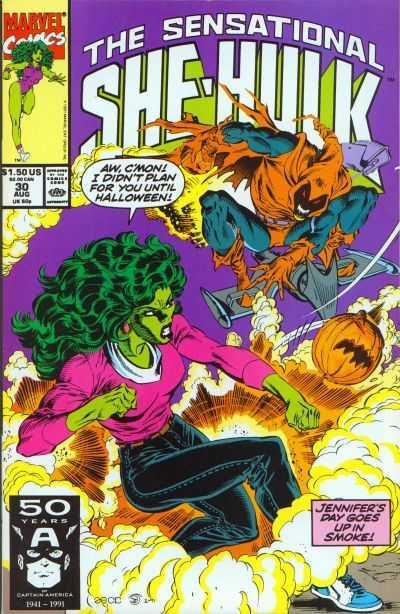 The Sensational She-Hulk #30