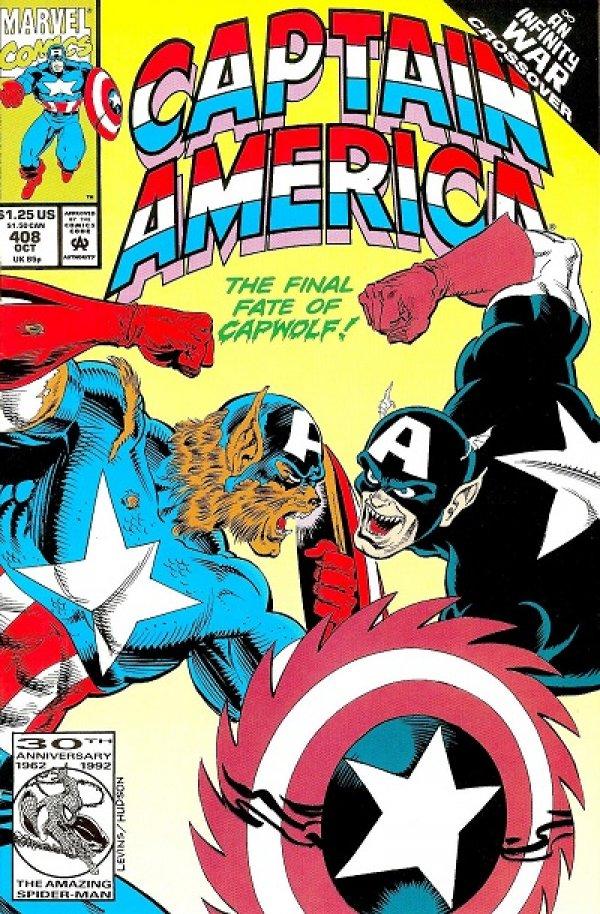Captain America #408